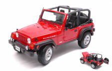 Jeep Wrangler Rubicon Red 1:18 Model 31663R MAISTO