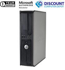 Dell OptiPlex 745 Desktop Computer Pc Core 2 Duo 4Gb Ram 250Gb Hdd Windows 10