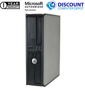Dell 745 Desktop Computer OptiPlex Core 2 Duo 4GB RAM 250GB HD Windows 10 PC