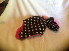 Berkshire Fashions Girls Polka Dot Hat and Mittons NWT