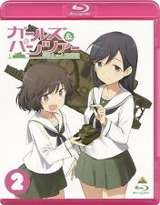 GIRLS und PANZER Vol. 2 Blu-ray + Booklet Limited Edition NEW from Japan F/S