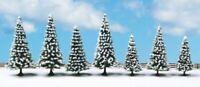 NOCH ALL SCALE SNOW FIR TREES 8-12CM 7/ | BN | 25087