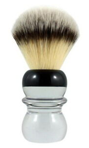 RAZOROCK Silvertip BC Plissoft Acryl-Griff Extra-Weiches Synthetic Hair