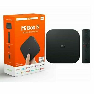 Mi Box S 4K Android TV Box Media Player - Black