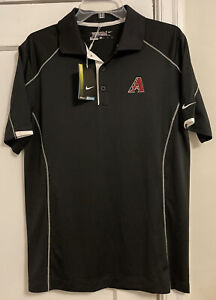 NWT Arizona Diamondbacks MLB Nike Golf Tour Performance S/S Polo Men's Sz S!