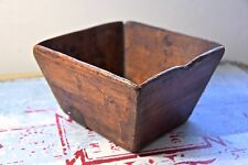 Vintage CHINESE rice Measure wooden box-OLD WOODEN BOX-VINTAGE CHINESE BOX 2
