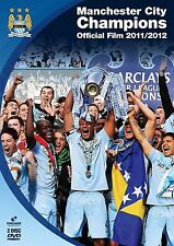 Manchester City Champions Official Film 2011/2012 Collectors DVD New UK REL R2