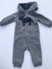 69dfa3059 Carter s Fleece Gray One-Pieces (Newborn - 5T) for Boys