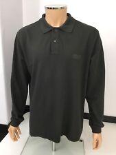 Armani Collezioni Men's Long Sleeve Polo top Shirt, XXL, 2xl, Green, Immaculate