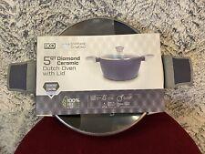 Iko 5 Qt Diamond Ceramic Dutch Oven with Lid