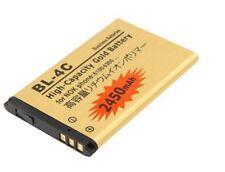 Batterie BL-4C BL4C - 3.7V 2450mAh pour Nokia 6100, 6101, 6102, 6103, 7200, ...