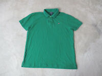 VINTAGE Ralph Lauren Polo Jeans Shirt Adult Extra Large Green Flag Rugby Men 90s