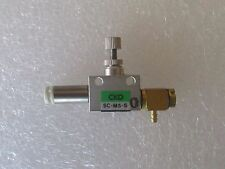 CKD SC-M5-S SPEED CONTROL VALVE WITH TUBE FITTINGS