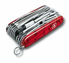Victorinox Swiss Army Knife, Swisschamp XLT, Ruby Red, Knive # 53504, New In Box