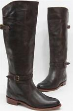 FRYE DORADO RIDING DARK BROWN LEATHER BOOTS SHOES  7.5 $478