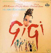 """GIGI"" OST LP 1958 MONO LESLIE CARON CHEVALIER JOURDAN"