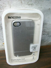 Incase Crystal Slider Case for iPhone 4/4S Silver CL59808 #2 - Used with Damage