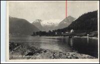 Brevkort Norge Norwegen ~1930 BALHOLMEN Berge See