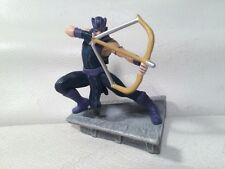 "Marvel's Super Hero HAWKEYE Action Figure Bow Arrow Posed On Rooftop 2.5"" 2011"