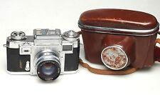 Contax IIIa Camera +Jupiter-8M 50mm F2
