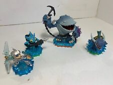 Skylanders Water Elemental Lot Thumpback Chill Zap Gill Grunt