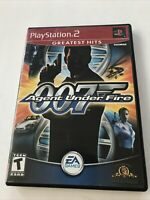James Bond 007 in Agent Under Fire PlayStation 2 PS2 - Complete Free Shipping