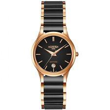 Roamer Ladies Ceraline Saphira Small Second Bracelet Watch Two-tone RRP £400