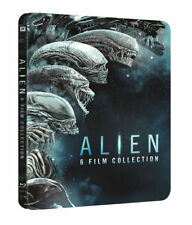 ALIEN ; 6 Film Collection Blu ray Steelbook ( NEW )