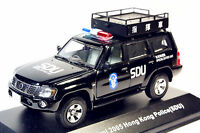 J-collection 1/43 Nissan Patrol 2005(Y61) Hong Kong Police(SDU) Command Car