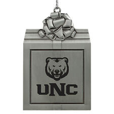 University of Northern Colorado -Pewter Christmas Holiday Ornament-Silver