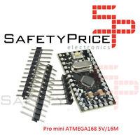 PRO MINI ATMega168 16MHZ 5V Pin Header Compatible ARDUINO