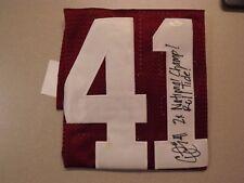 Signed Upshaw Jersey #41 w/COA