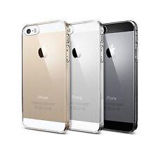 FUNDA CARCASA TRANSPARENTE APPLE IPHONE 5 5S ULTRA FINA 0.5 MM SE