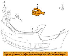 Cadillac GM OEM 10-15 SRX Headlight Head light lamp Washer/wiper-Nozzle 15949235