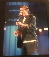 SAM WOOLF SIGNED 8X10 PHOTO AMERICAN IDOL B W/COA+PROOF RARE WOW