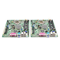Lot of 2 Dell Optiplex 760 SFF Socket LGA775 Logic Main Motherboard M863N F373D