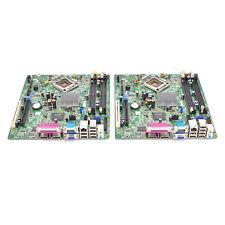 Lot of 2 Dell Optiplex 760 SFF Socket LGA775 Logic Main Motherboard M863N F373D