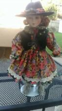 Vintage Cowgirl Collectible Doll