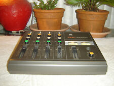 Teac M-09, Audio Mixer, 4 Channel Mic/Line Mixer with Parametric Eq, Vintage