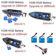 Upgrade To 1800Mah Parallel 3Pcs 7.4V 600Mah 18350 Li-Ion Battery For H100 H102