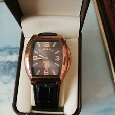 More details for u.s polo assn copper watch.mint.working.unwanted.gift in box.
