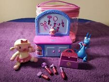 doc mcstuffins mini clinic playset with Lammie stuffy talking singing &tote