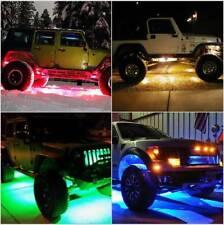 12 Pcs Pod LED Rock Light Under Body Lights For JEEP Offroad Truck UTV ATV