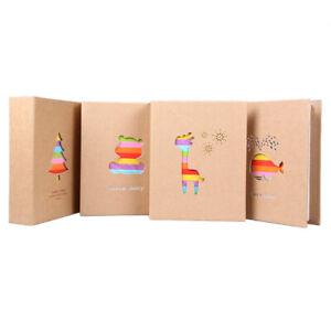 7 inch 100 Pocket Type Photo Picture Storage Album for Kids Children NIGH