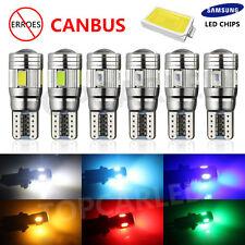 Lot 5730 LED T10 6SMD 5630 Super Bright W5W 194 168 2825 Car Canbus Backup Light