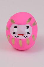 Daruma Glücksbringer Japan Glückespuppe Wunschfigur Pink:LiebeGeburt lucky doll