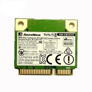 RealTek RTL8821AE AW-CB161H WIFI Wlan Wireless Card BT4.0 Bluetooth Dual Band