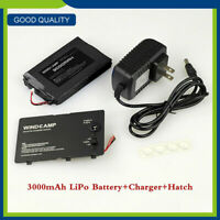 WLB-817S 3000mAh LIPO Battery+Charger+Hatch Set Kits For Yaesu FT-817 FT-818