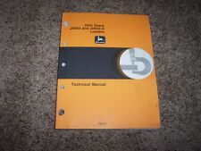 John Deere 644 644A 644 A Loader Technical Repair Service Shop Manual Tm1011