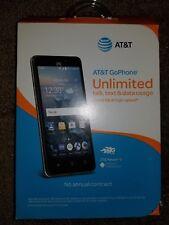 UNLOCKED ZTE Maven 2 - 8GB - Black (AT&T) Smartphone